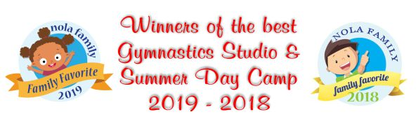 NOLA Family 2018-2019 Best Gymnastics and Best Summer Camp Winners